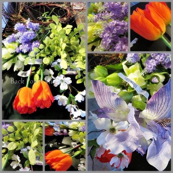 Spring Wreath Mosaic